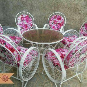 صندلی باغی کالسکه ای