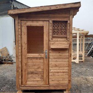 کلبه ی چوبی نگهبانی