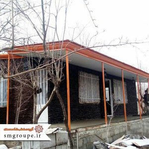 ساختمان پیش ساخته ویلایی