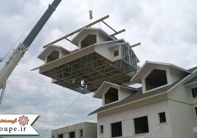 موارد استفاده از سازه پیش ساخته