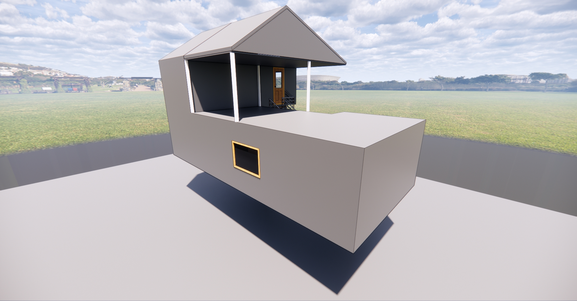 مدل 3 بعدی فضا 2