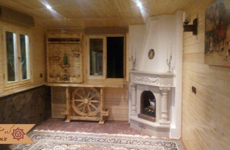 بازسازی خانه ی پیش ساخته دوبلکس